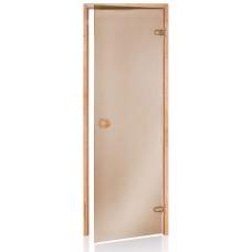 Двери для бани и сауны Wood classic бронза 80х190 купить в Киеве