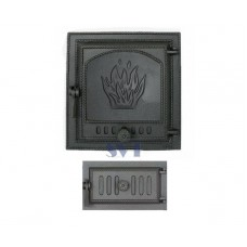 Комплект дверец для печи герметичный SVT 411-433 купить в Киеве
