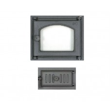 Комплект дверец для печи не герметичный SVT 451-432 купить в Киеве
