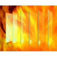 Огнеупорное стекло любой размер под заказ купить в Киеве