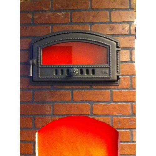 Печные дверцы с огнеупорным стеклом svt киев