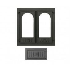 Комплект дверец для камина не герметичный SVT 401-432 купить в Киеве