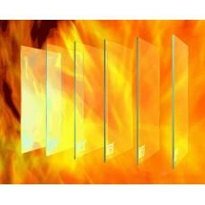 Огнеупорное стекло для камина 50*80 купить в Киеве